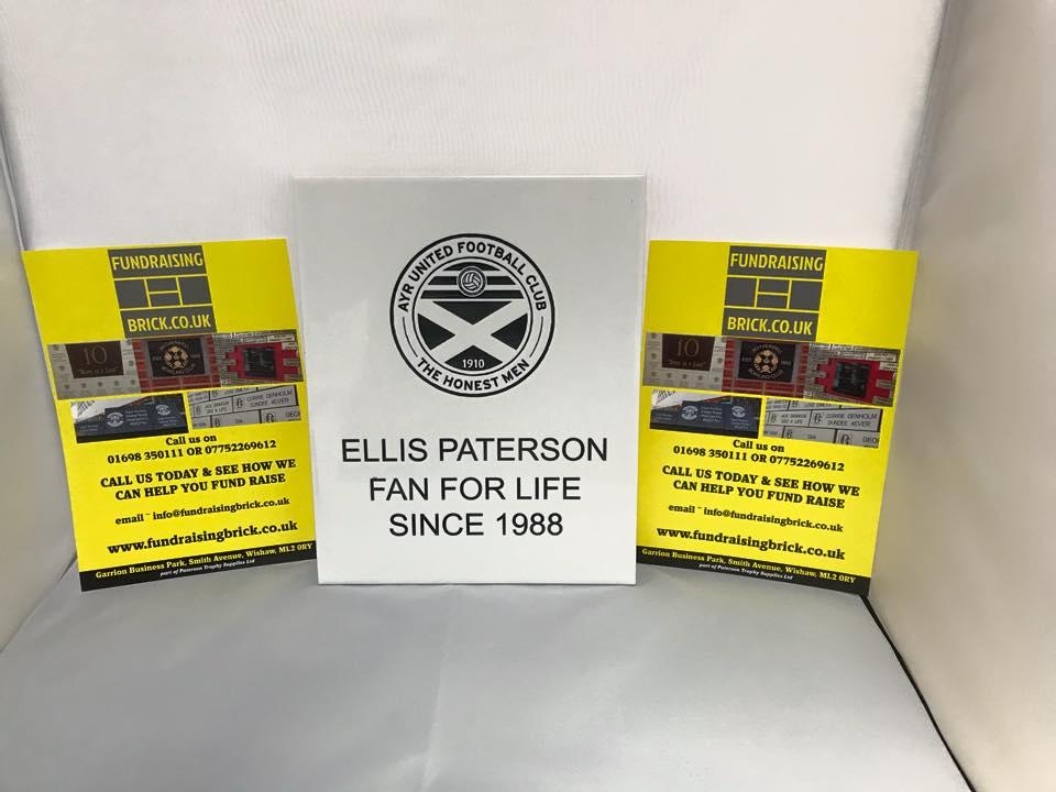 Ayr United, fundraising tunnel